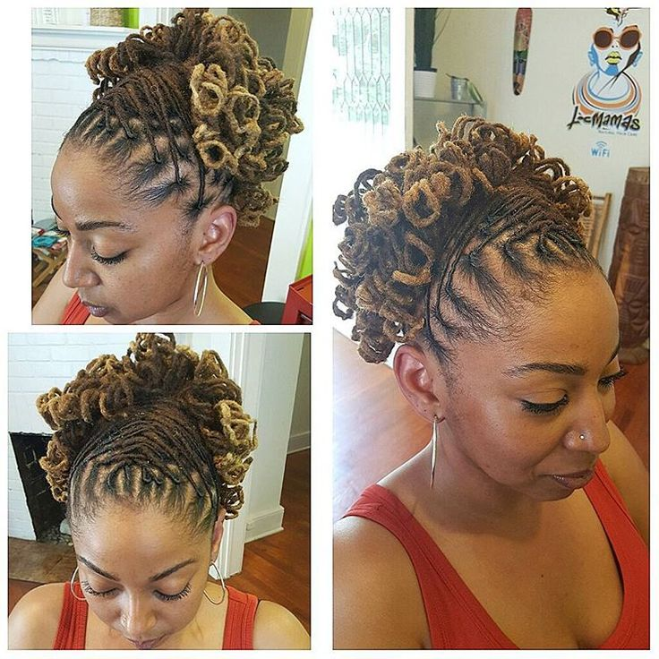 Dreadlocks Hairstyles Delectable 143 Best The Art Of A Loc Journey Images On Pinterest  Hair Dos