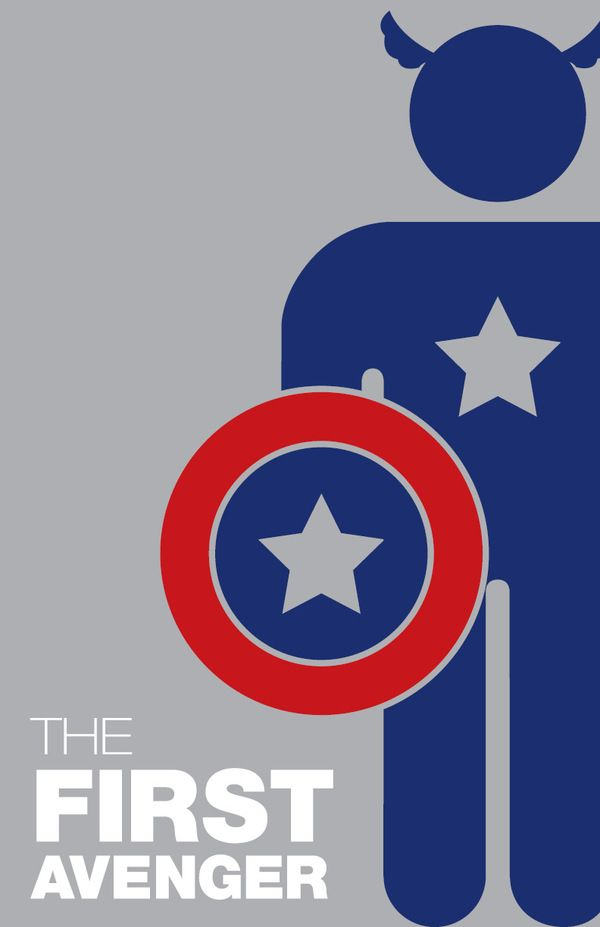 Captain America, by Michelle Samuels, Rochester Institute for Technology.