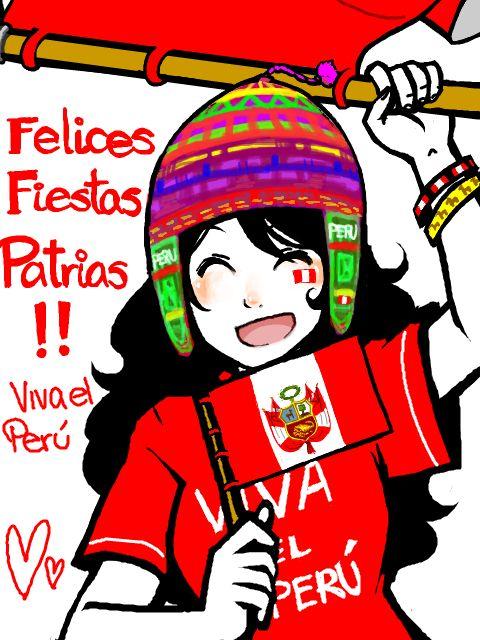 FELICES FIESTAS PATRIAS PERÚ ♥  #ILOVEPERU