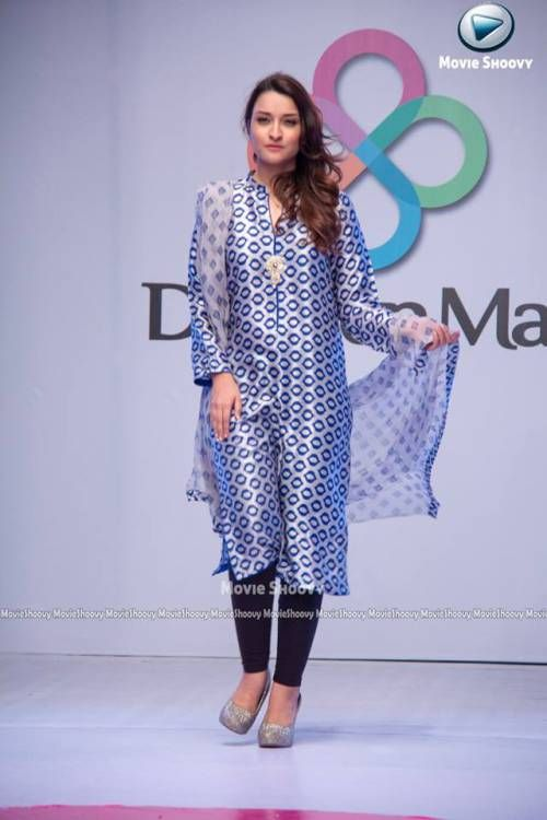 Agha Noor Dolmen Fashion Show Dresses Collection 2015