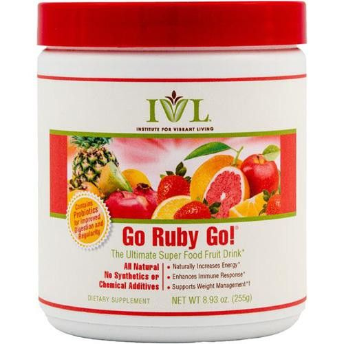 Institute For Vibrant Living Go Ruby Go - 8.93 Oz