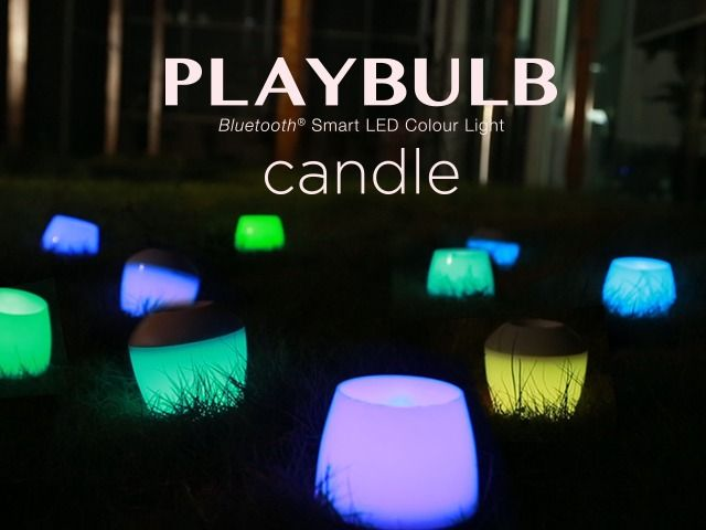 With PLAYBULB X free App, PLAYBULB candle is a smart LED candle light that liberates our imagination over colors.