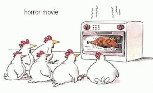 film d'horreur pour poulets, publiée le 24 Octobre 2011