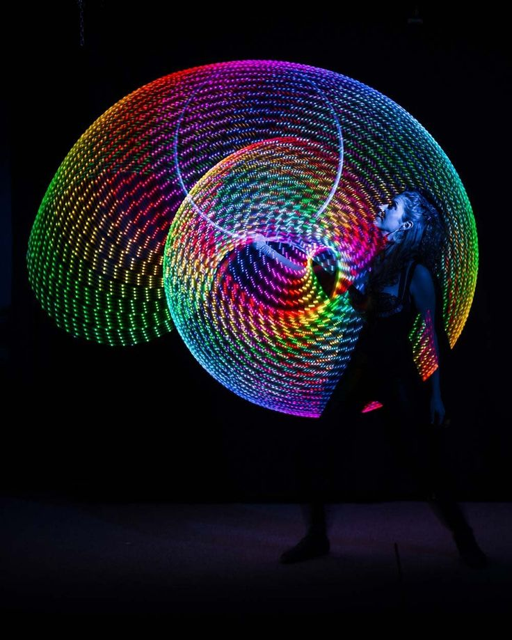 The amazing LED Hula Hoop http://raveswear.com/rave-accessories/ #hulahoop #rave