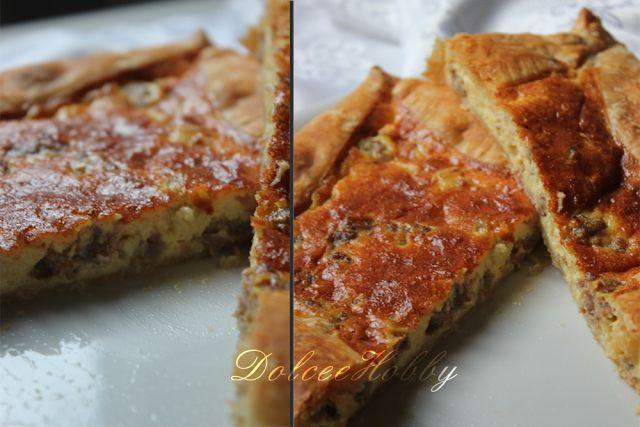 DolceeHobby ♥: Torta salata: salsiccia e stracchino