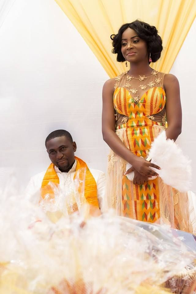 I Do Ghana | Kobby & Phylicia traditional wedding | Ghana wedding | Kente Fashion