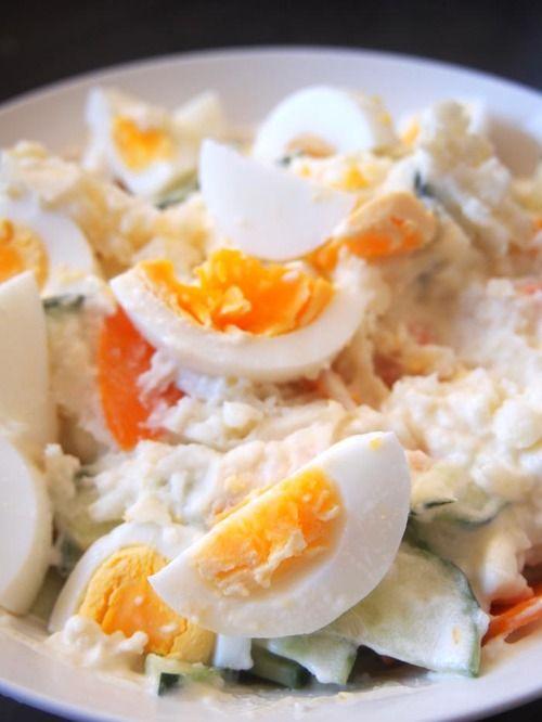 Japanese Potato Salad (via Becoming Beautiful)