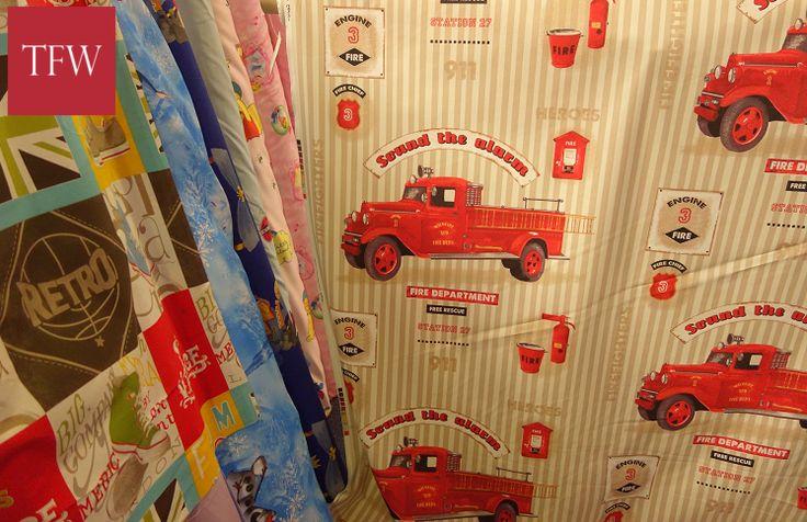 Children's Curtain Fabric | The Fabric Warehouse