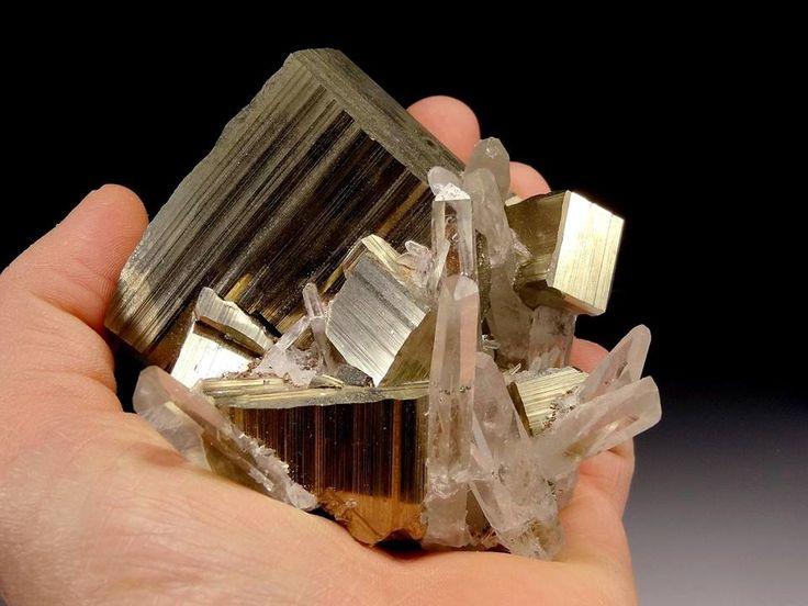 Pyrite & Quartz cluster --- Spruce #16 claim, King County, Washington