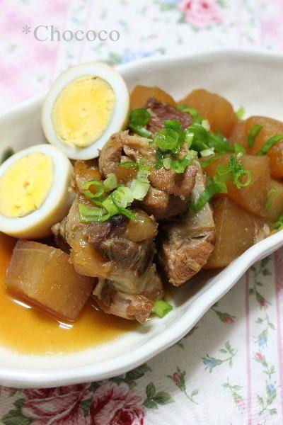 豚スペアリブと大根の煮物 レシピ 圧力鍋 by chococoさん | レシピ ...