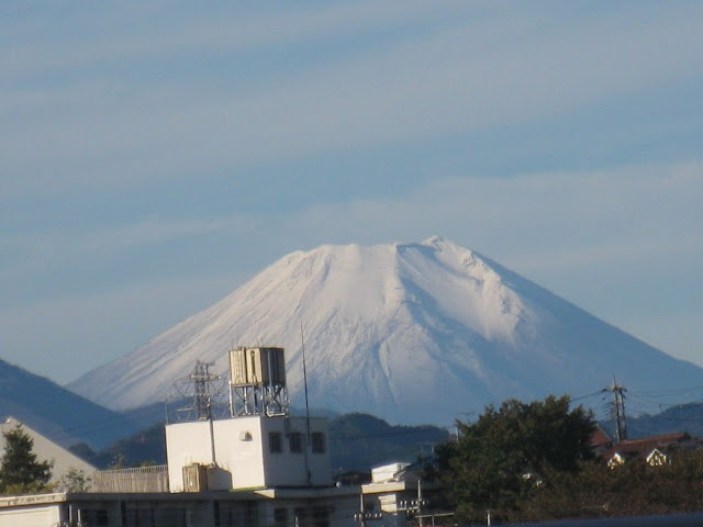 Mt. Fuji from my home