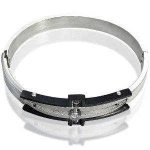 316L Stainless Steel Bracelet with Center Stone CZ Accent(Diameter 57mm) (Jewelry)  http://www.amazon.com/dp/B007O1KV8O/?tag=iphonreplacem-20  B007O1KV8O