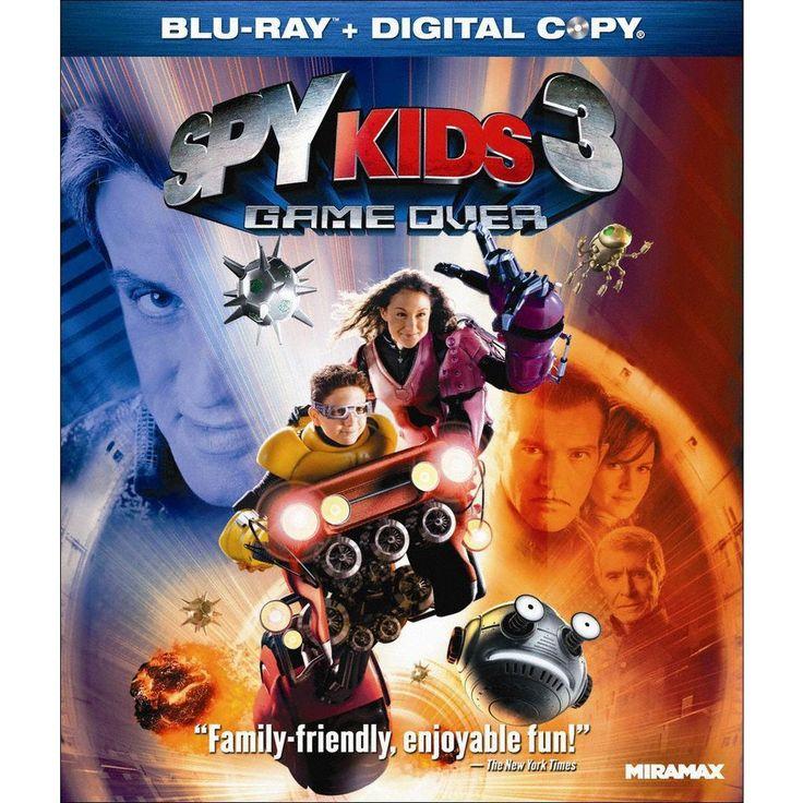 Spy Kids 3: Game Over [Includes Digital Copy] [Blu-ray]