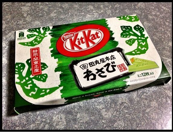Kitkat Wasabi Japan 12 bars 2014 Shizuoka Kanto Region Limited Edition Cheapest #KitkatJapan