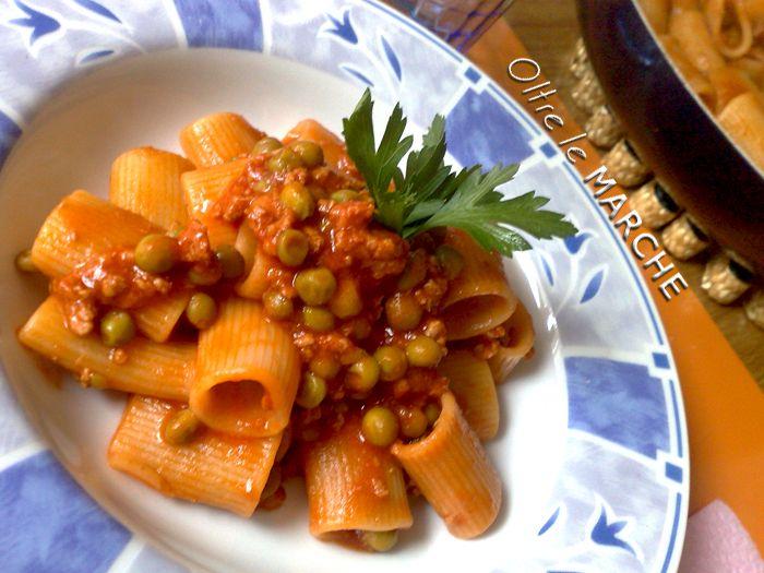 Pasta e piselli, primi piatti veloci - ricetta