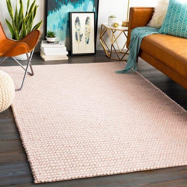 Megumi Handmade Braided Wool Blend Area Rug In 2020