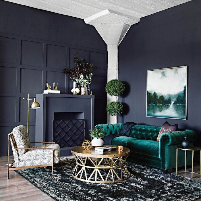 Ideen Für Ein Schönes Wohnzimmer: 1001 + Ideen Für Wohnzimmer Wandfarbe 2018