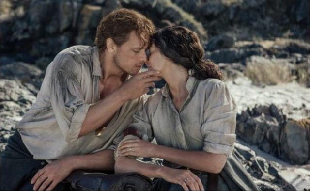"dawncrutchfield: ""311 Uncharted Outlander Season 3 Caitriona Balfe as Claire Fraser and Sam Heughan as Jamie Fraser """