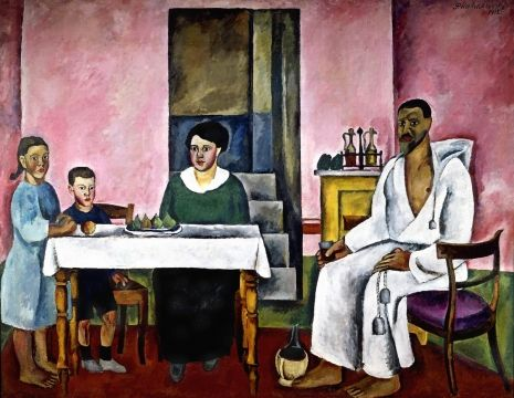 Кончаловский Петр Петрович  Семейный портрет (сиенский) 1912
