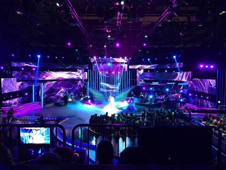 NBL 2015 for Univision. Beautiful set this year, LED walls everywhere. Programming for Lighting and Catalyst. #SouthFlorida