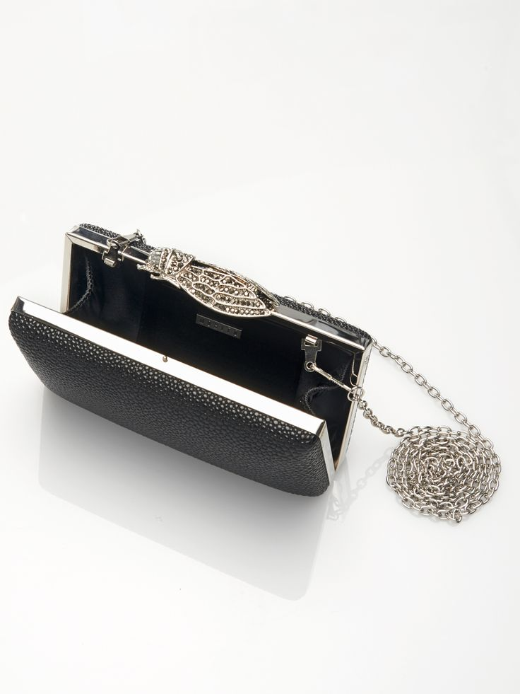 Clutch with metal fastening KK928-99X  #bag #mohito #fashion