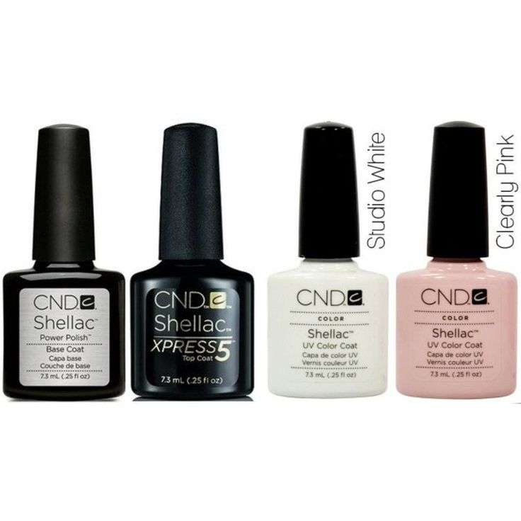 CND Shellac French Manicure Collection 0.25 oz