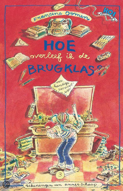 bol.com | Hoe overleef ik de brugklas?, Francine Oomen | Boeken