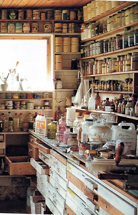 Studio, Pierre Olofsson - Swedish artist,