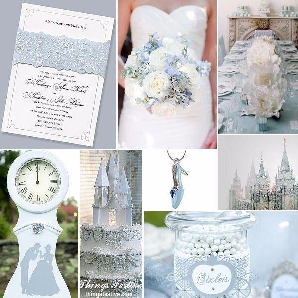 Decorazioni per un matrimonio a tema Cenerentola