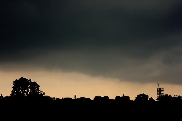 Gloomy Jakarta, Indonesia