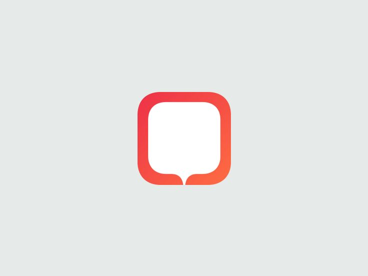 Speech Bubble App icon by Kutan URAL