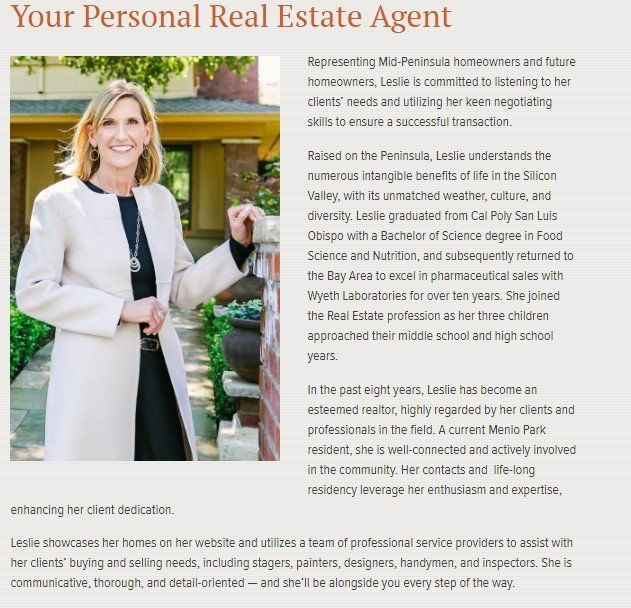 How To Write A Real Estate Agent Bio With 9 Stellar Examples Luxury Real Estate Agent Estate Agent Real Estate