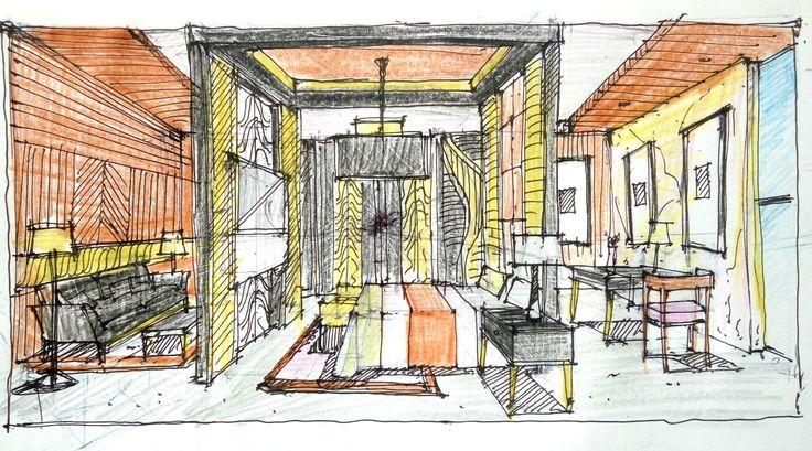 Brainstorming hotel bedroom