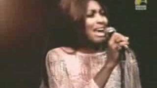Tina Turner - Rolling on the river (1971) (Proud Mary), via YouTube.