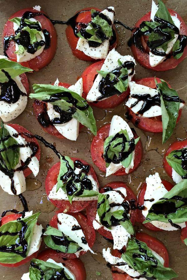 Insalata Caprese #caprese #salad #appetizer