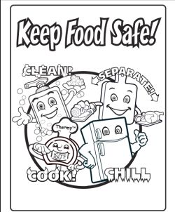 Cute Safety Coloring Pages 96 USDA FSIS Gov Docs