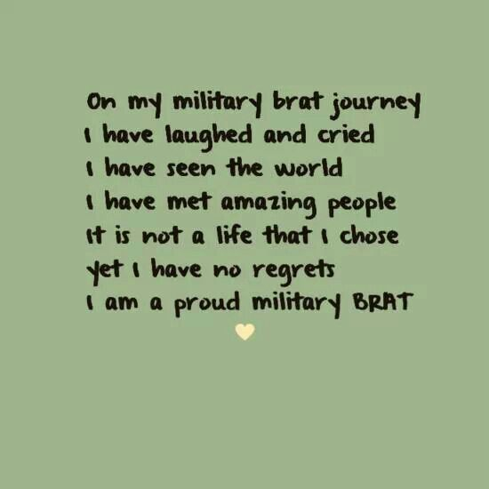 Courtesy of Maria Isabel-Military Brat Humor and Memes-facebook
