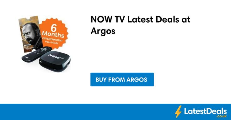 NOW TV Latest Deals at Argos