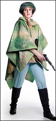 Now here's a Leia cosplay I'd love to do...as much as I love her bounty hunter outfit, this one is much more doable for me
