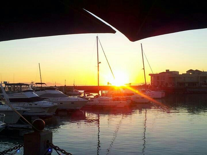 Gordons's Bay harbour SA