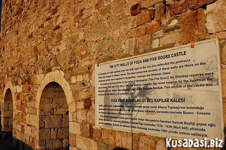 Eski Foca castle.