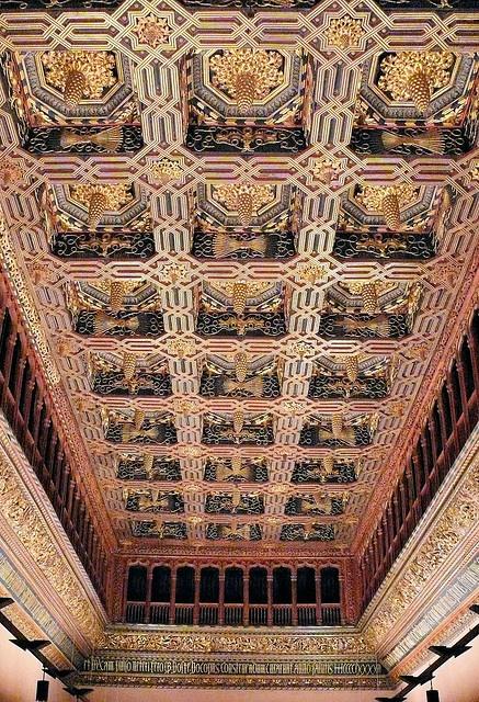 Sala del trono - Palacio de la Aljafería, Zaragoza by Arnim Schulz, via Flickr ~ Aragón