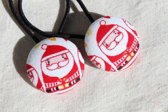 Santa hair ties - set of two | A Scarlett Store | madeit.com.au