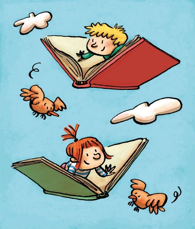 Books are an adventure!