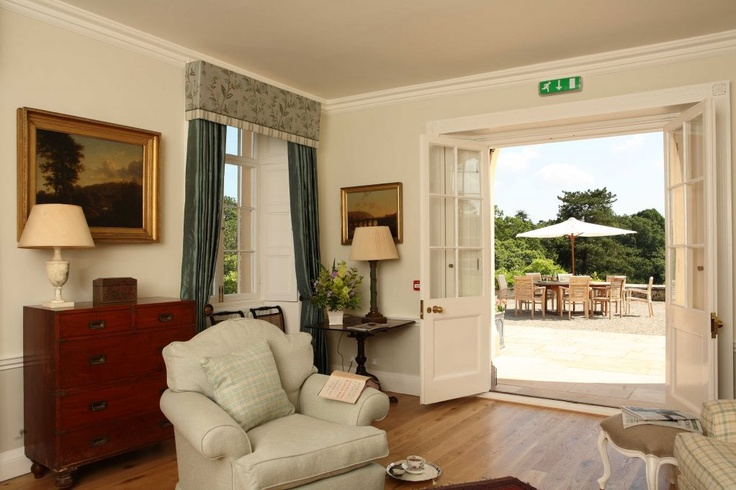 """""""Pentillie Castle, while not a hotel in the conventional sense, offers award-winning, luxurious accommodation in a breathtaking setting overlooking the River Tamar and Dartmoor."""""""