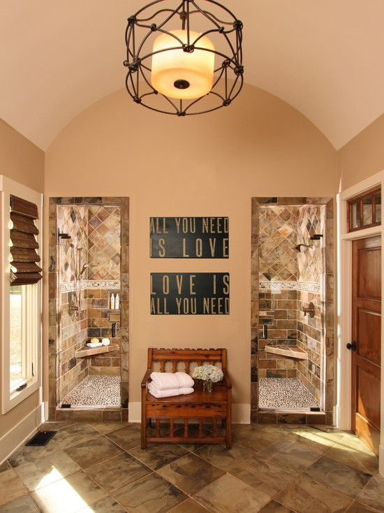 Traditional Bathroom Walk Through Shower Design, Pictures, Remodel, Decor and Ideas - page 2