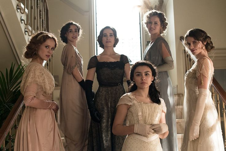 Las 6 protas de la serie Seis Hermanas en TVE