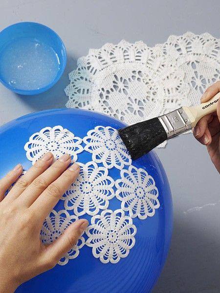 DIY-Tipp: Basteln Sie eine hübsche Shabby Chic Lampe