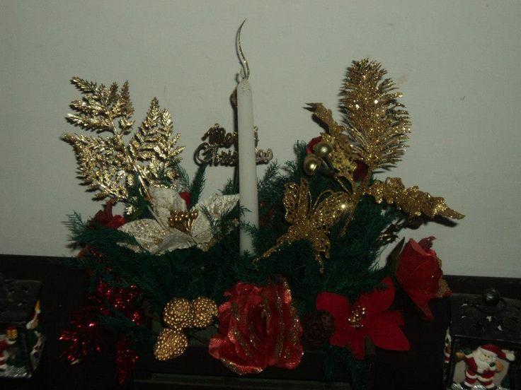 flores de navidad juego de mesa