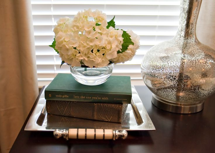 Great bedside table decor  @A Well Dressed Home - Interiors by Emily Hewett